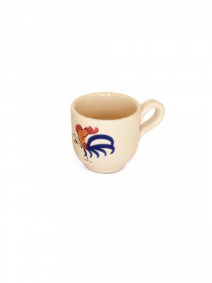 Tazza caffè Smalto Gallo