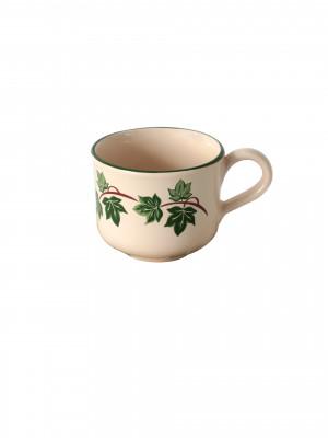 Tazza Tè Smalto Edera