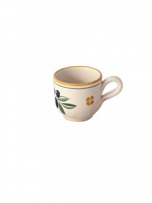 Tazza caffè Smalto Olive